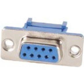 Image of Vrouwelijke 9p Sub-d Connector Voor Platte Kabel