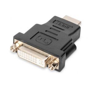 Digitus HDMI-DVI Adapter [1x HDMI-stekker => 1x DVI-bus 24+5-polig] Zwart