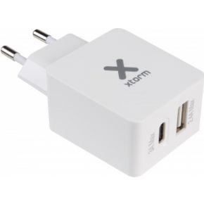 Xtorm AC Adapter, USB+USB-C