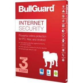 Image of BullGuard 10x Internet Security 1Y/3U/5GB/free Pc Tuneup
