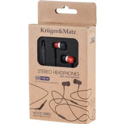 Kr�ger&Matz KM0108-MRW In-Ear Hoofdtelefoon