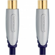 Image of 120 DB Coaxkabel Coax Male (IEC) - Coax Female (IEC) 10.0 M Blauw