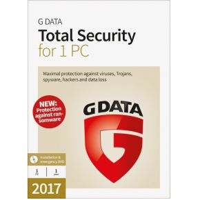 Image of G Data Total Security 17.5 für 1 PC, 1 CD-ROM