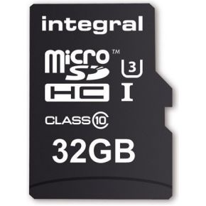 Integral Integral 32GB MicroSDHC Card for Action Cam Class 10 90MB-45MB-s (INMSDH32G10-ACTION)