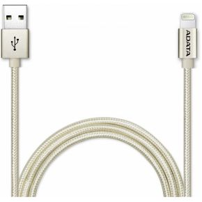 Image of ADATA 1m, USB 2.0-A/Lightning 1m USB A Lightning Goud