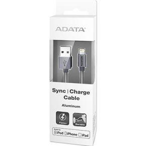 Image of ADATA 1m, USB 2.0-A/Lightning 1m USB A Lightning Titanium