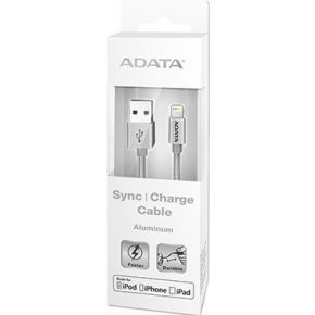 Image of ADATA 1m, USB 2.0-A/Lightning 1m USB A Lightning Zilver