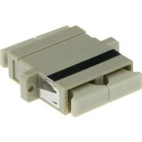ACT Fiber optic SC-SC duplex adapter multimode OM2