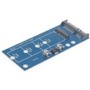 Gembird EE18-M2S3PCB-01 Intern mSATA interfacekaart--adapter