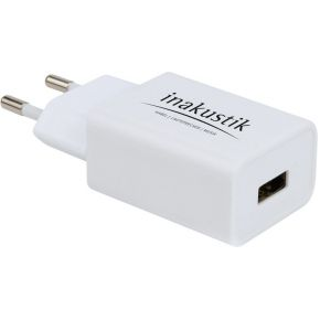 in-akustik Premium USB AC Power adapter-fast charger