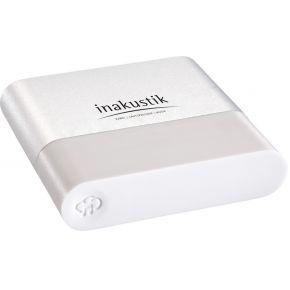 Inakustik 00415007 USB, Jackplug, Micro-USB 2.0, S-PDIF (TOSLINK), WiFi Streaming Mediaplayer 300 Mb