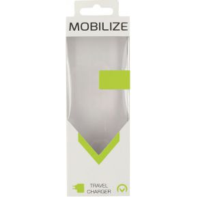 Mobilize Travel Charger Single USB 2.1A White