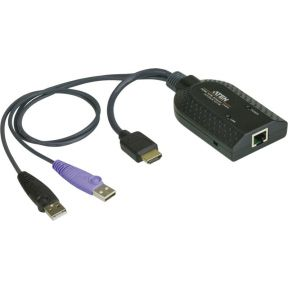 USB-HDMI – category 5e-6 KVM adapter