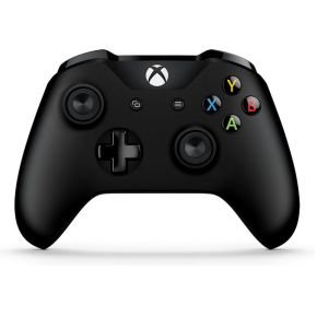Microsoft Xbox Controller + Wireless Adapter Gamepad PC, Xbox One Zwart