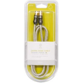 Ultra Coax Aerial Cable 1m