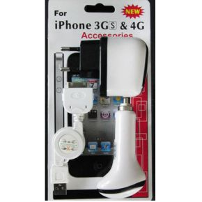Technaxx iPod-Iphone 3GS-4G Accessoires Kit .3073.