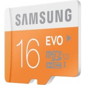 MicroSDHC EVO 16GB + Adapter