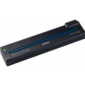Brother Mobiele PocketJet printer 300dpi, USB, WLAN (allee Adhoc modus), ESC-P en Brother commando's