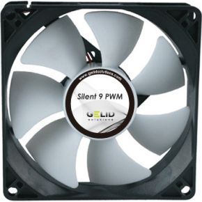 Image of Gelid Silent PWM, 92mm, 1500rpm, Grijs