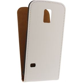 Mobilize Ultra Slim Flip Case Samsung Galaxy S5 mini White