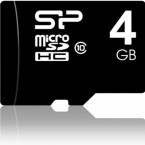 Silicon Power 4GB microSDHC