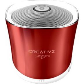 Image of Bluetooth luidspreker Creative Labs Woof 3 Handsfree-functie, SD Rood