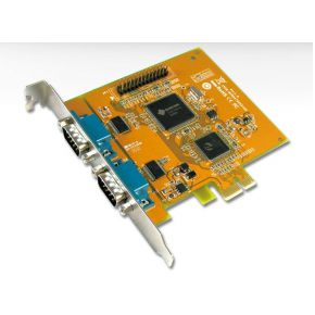 Card pci-e rs232+parallell ACT