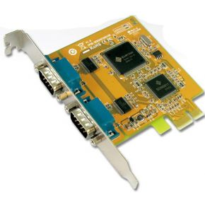 Card 2x serieel pci-express ACT