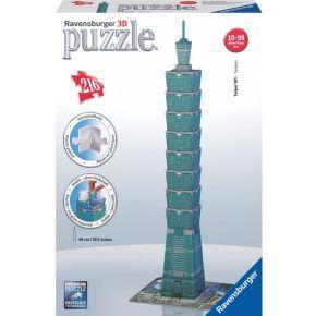 3D Puzzel Toren van Taipei