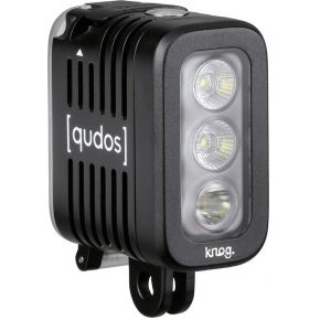 Qudos by Knog Qudos Action Light zwart voor gopro + andere Action Cams, DSLR's, Statief.