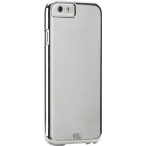 Case-Mate Apple iPhone 6 Barely There Metallic Silver
