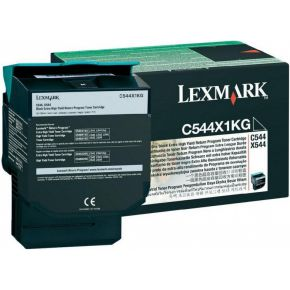 TONERCARTRIDGE LEXMARK C544X1KG PREBATE 6K ZWART