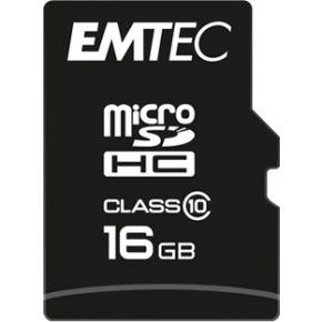 Emtec 16 GB microSDHC-kaart Class 10, UHS-I