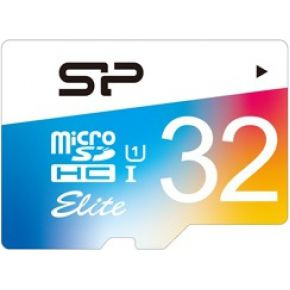 Silicon Power Micro SD 32GB Silicon Power UHS-1 Elite-cl. 10 w-adapt-Col (SP032GBSTHBU1V20SP)