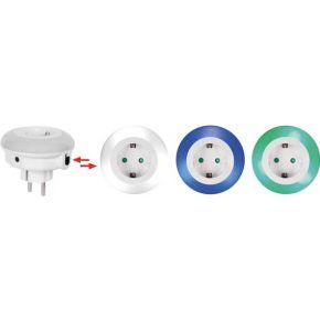 Led-nachtlampje Met Stopcontact Randaarde