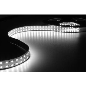 FLEXIBELE LED STRIP KOUD WIT 6500K 600 LEDs 5m 24V