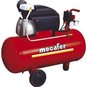 Image of COMPRESSOR MECAFER - 2 pk / 50l / 8 bar - NUAIR