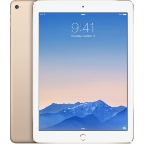iPad Air 2, 128 GB, Wifi + Cellular, Goud