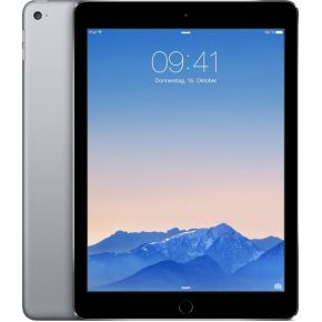 iPad Air 2, 128 GB, Wifi + Cellular, Spacegrijs