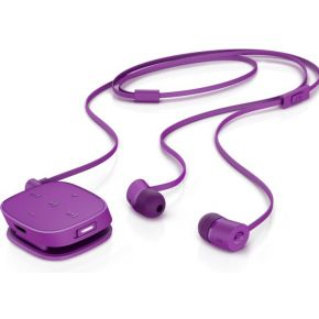 HP H5000 Neon Purple Bluetooth Headset