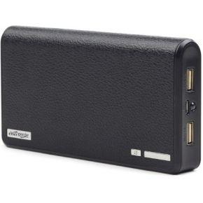 Gembird Powerbank Gembird 12.000 mAH inkl. Adapterset USB zwart (EG-PB12-01)