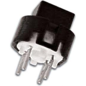 Image of Drukschakelaar Met Vierkante Knop 7.5mm Zwart - (10 st.)