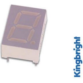 Image of 1-digit Display 10mm Gemeenschappelijke Anode Hyperrood