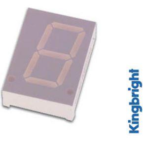 Image of 1-digit Display 20mm Gemeenschappelijke Anode Geel