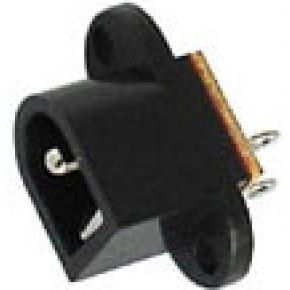 Image of Dc Aansluiting Voor Chassismontage 2.5mm/5.5mm Dc Jack - (25 st.)