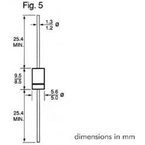 Image of Schottky Diode 3a - 40v