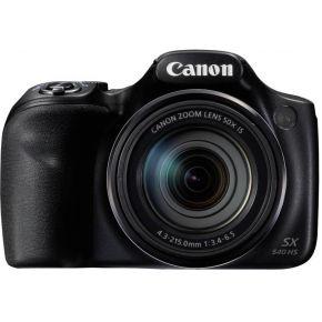 Image of Canon Foto Camera PowerShot SX540 HS 20.3 Megapixel, WiFi, NFC (zwart)