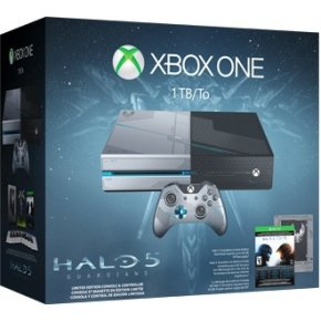 Microsoft Xbox One 1 TB Limited Edition Halo 5: Guardians Pack