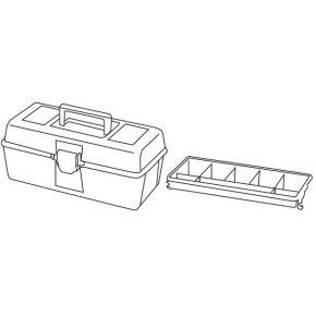 Image of Tayg - Gereedschapskoffer - 310 X 160 X 130 Mm