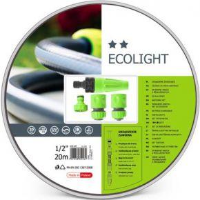 """Image of Cellfast - Ecolight Set - Tuinslang 20 M - 4 Spuitstukken - 1/2"""""""""""